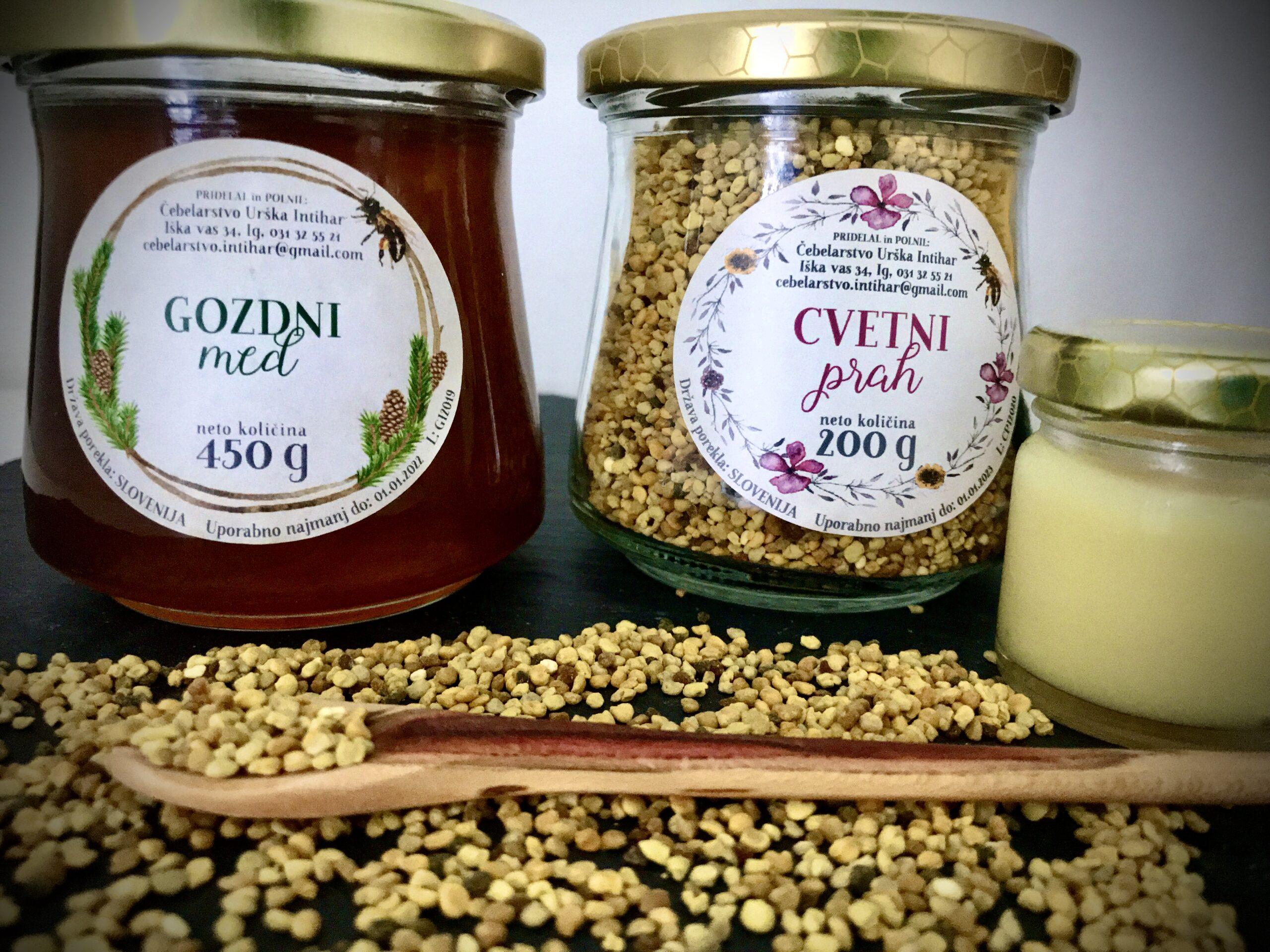Urska Intihar honey pollen